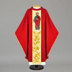 Gothic Chasuble 12134 - Red