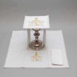 Embroidered Altar Linen set 7882  - 1