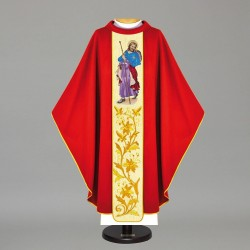 Gothic Chasuble 12136 - Red