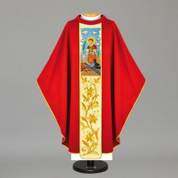 Gothic Chasuble 12137 - Red