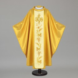 Gothic Chasuble 12148 - Gold  - 1