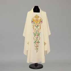 Gothic Chasuble 12151 - Cream