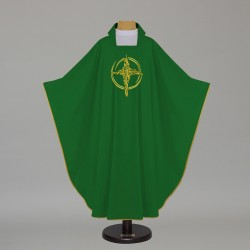 Gothic Chasuble 7542 - Green