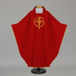 Gothic Chasuble 7543 - Red