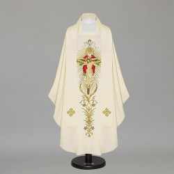 Gothic Chasuble 12177 - Cream  - 1