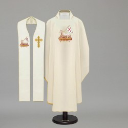 Gothic Chasuble 4282 - Cream