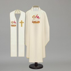 Gothic Chasuble 4273 - Cream