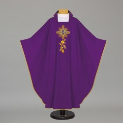 Gothic Chasuble 7676 - Purple
