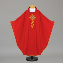 Gothic Chasuble 7675 - Red