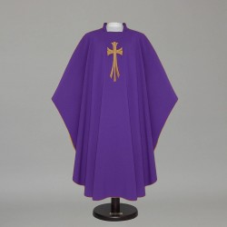 Gothic Chasuble 12203 - Purple