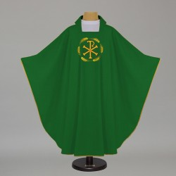 Gothic Chasuble 7583 - Green