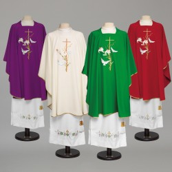 Gothic Chasuble 8877 - Red