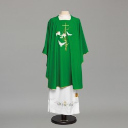 Gothic Chasuble 8880 - Green