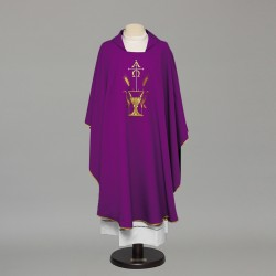 Gothic Chasuble 8884 - Purple