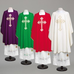 Gothic Chasuble 8890 - Green
