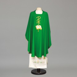 Gothic Chasuble 8893 - Green
