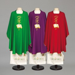 Gothic Chasuble 8895 - Purple