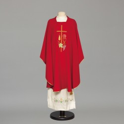 Gothic Chasuble 8937 - Red