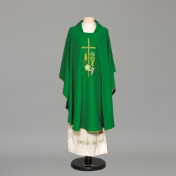 Gothic Chasuble 8940 - Green
