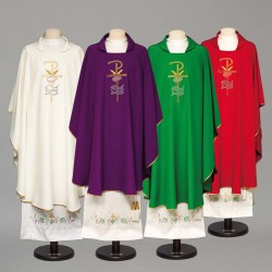 Gothic Chasuble 8949 - Red