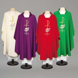 Gothic Chasuble 8955 - Green