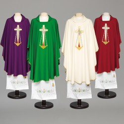 Gothic Chasuble 8957 - Purple