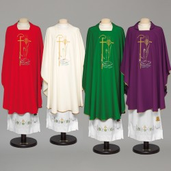 Gothic Chasuble 8964 - Green