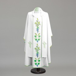 Gothic Chasuble 8967 - Cream