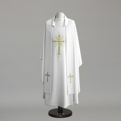 Gothic Chasuble 8971 - Cream