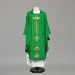 Gothic Chasuble 8972 - Green