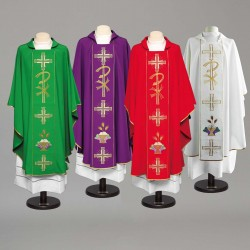 Gothic Chasuble 8975 - Cream