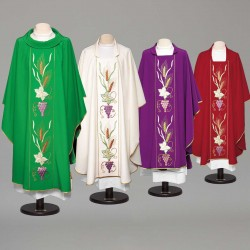 Gothic Chasuble 8982 - Red