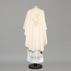 Gothic Chasuble 8989 - Cream