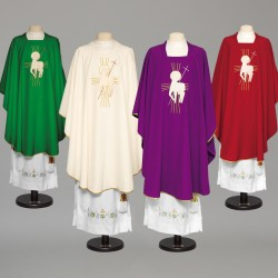 Gothic Chasuble 8990 - Green