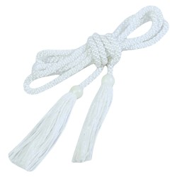 Altar Servers Cincture 13ft - 12358 - White  - 6