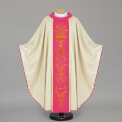 Gothic Chasuble 12439 - Cream