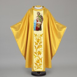 Gothic Chasuble 12454 - Gold  - 1