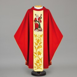 Gothic Chasuble 12459 - Red