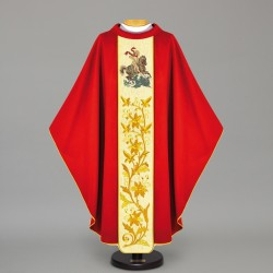 Gothic Chasuble 12533 - Red