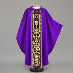 Gothic Chasuble 12536 - Purple