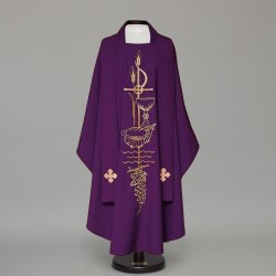 Gothic Chasuble 12554 - Purple