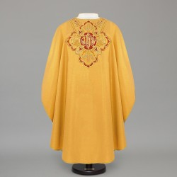 Gothic Chasuble 4246 - Gold  - 1