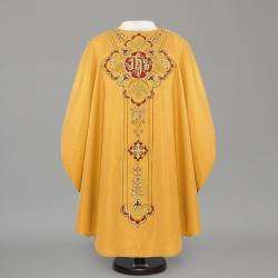 Gothic Chasuble 12556 - Gold