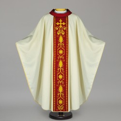 Gothic Chasuble 12558 - Cream