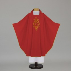Gothic Chasuble 12565 - Red