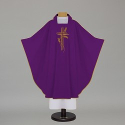 Gothic Chasuble 5148 - Purple