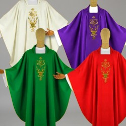 Gothic Chasuble 12566 - Red