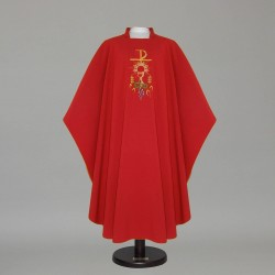 Gothic Chasuble 12569 - Red