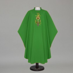 Gothic Chasuble 12571 - Green  - 1