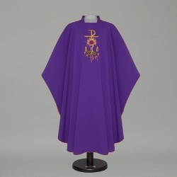 Gothic Chasuble 12572 - Purple